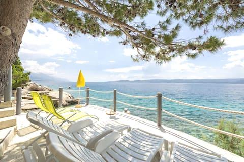 Studio ANTE private access to beach