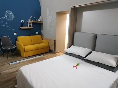 Suite 30 Mq, reception virtuale, colazione inclusa