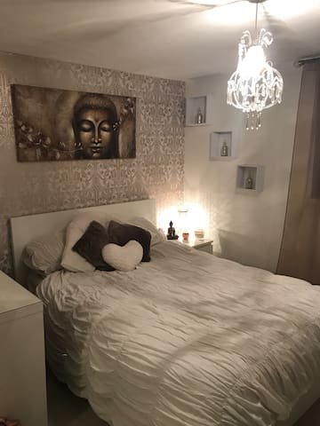 Cozy double room great connections - Londres - Apartamento