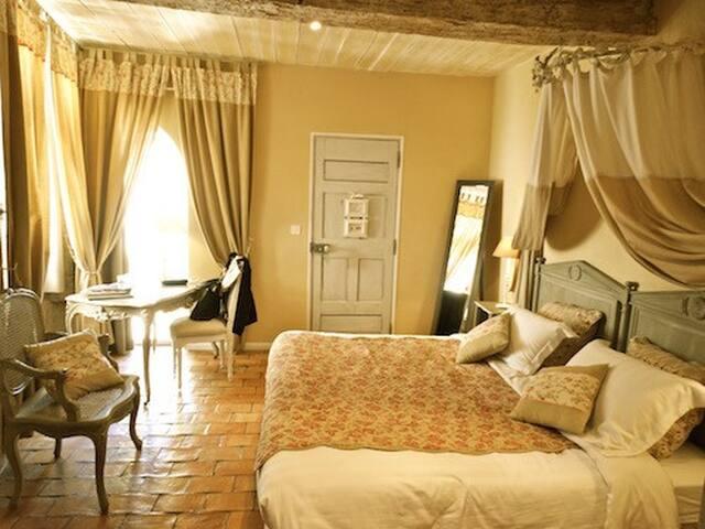 Un Patio en Luberon - Chambre Lourmarin - Ansouis