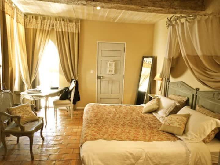 Un Patio en Luberon - Chambre Lourmarin