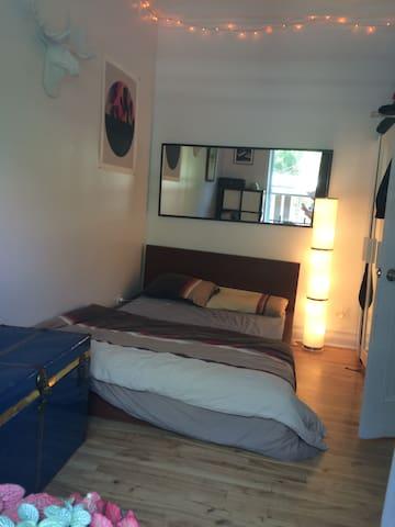 Nice room in splendid apartment - Montréal - Apartment
