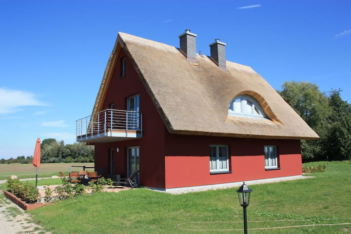 Ferienhaus Felderblick Gustowerhöfen - Dreschvitz - Rumah
