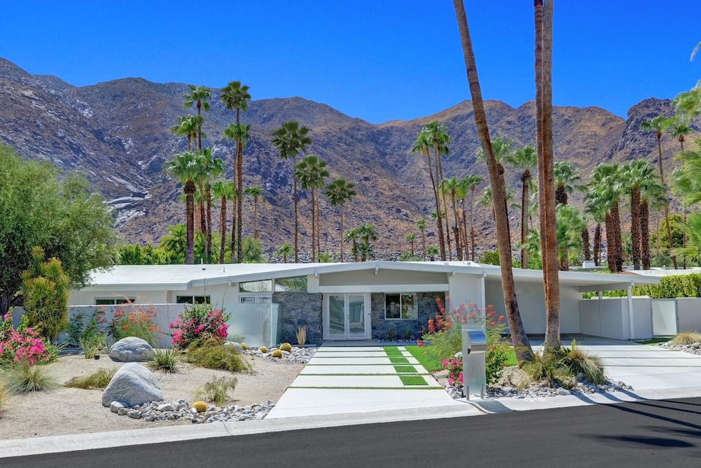 Your rental is located just 15 minutes from N. Palm Canyon Drive.