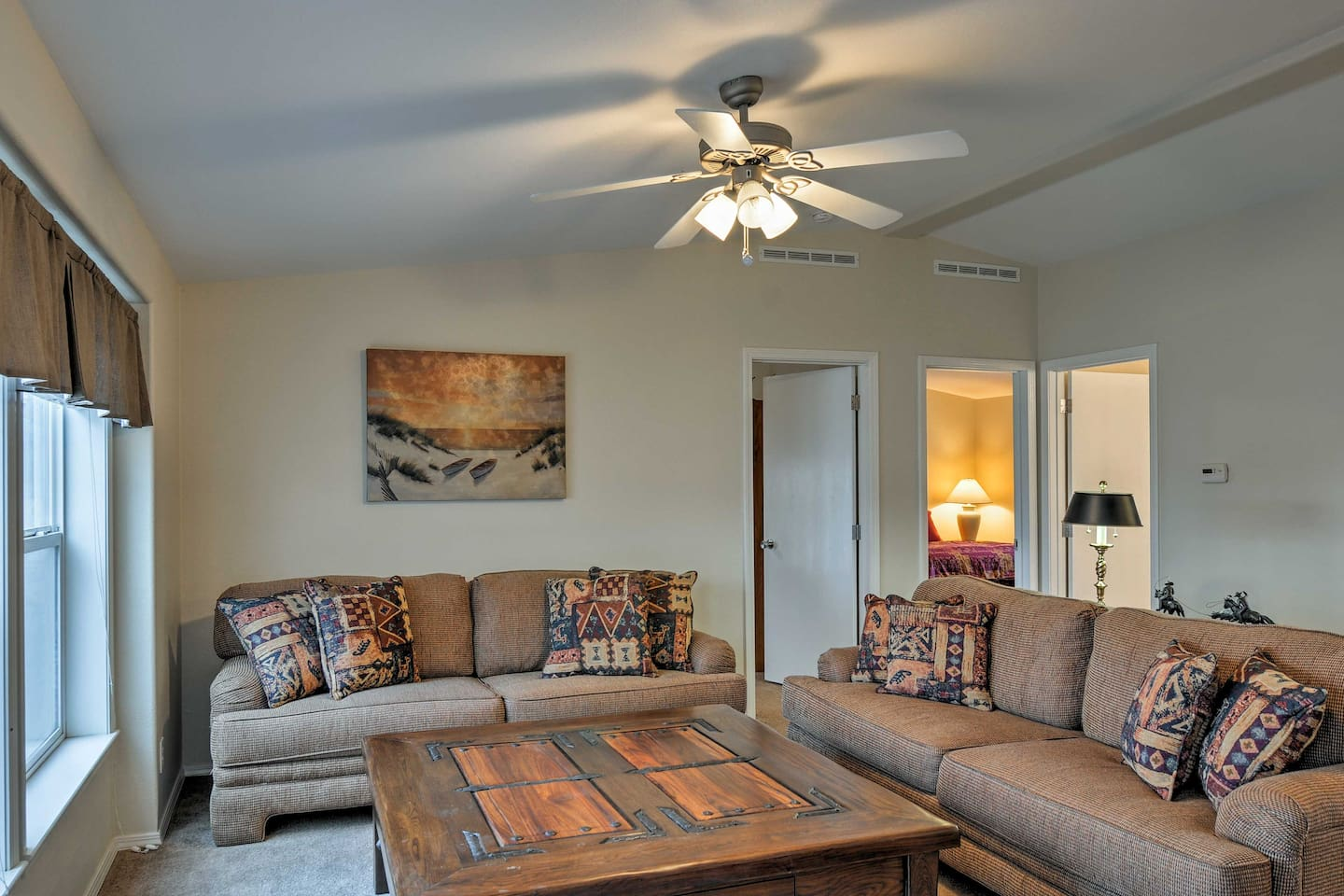 The 2,000-square-foot home includes 3 bedrooms & 2 bathrooms.