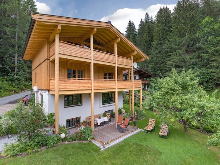 Haus Sonne - Doppelzimmer 1, Kitzbüheler Alpen