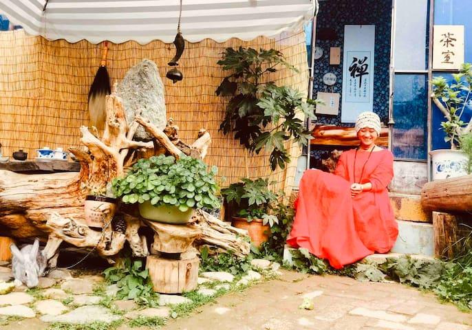 香格里拉古城-可停车、做饭、有茶室,有花园!有私家车!