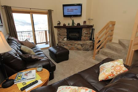 Fantastic 4 BR Paradise condo! Hot tub and Ski in/out. 5th night free! - Mt. Crested Butte - Appartement