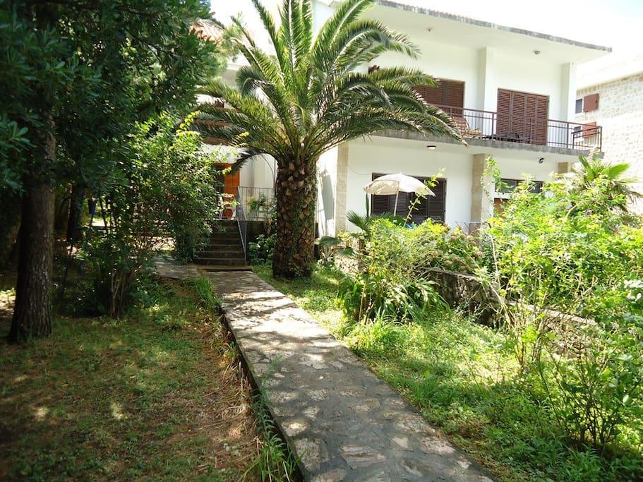1 bedrrom apartment - garden