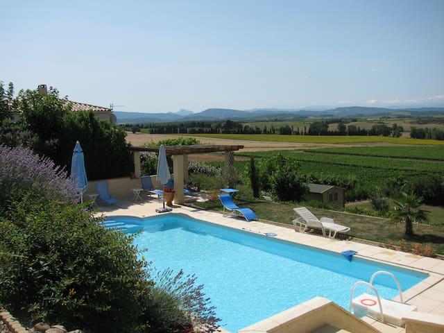 Villa met unieke ligging in de Aude - Cailhau  - Villa