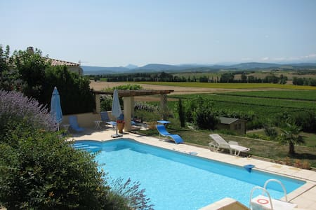 Villa met unieke ligging in de Aude - Cailhau  - วิลล่า