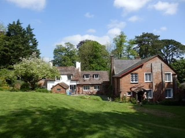 Countryside B&B in Athelhampton; Double, ensuite - Puddletown