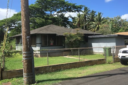 Haleiwa Beach Side Hide Away - Guesthouse