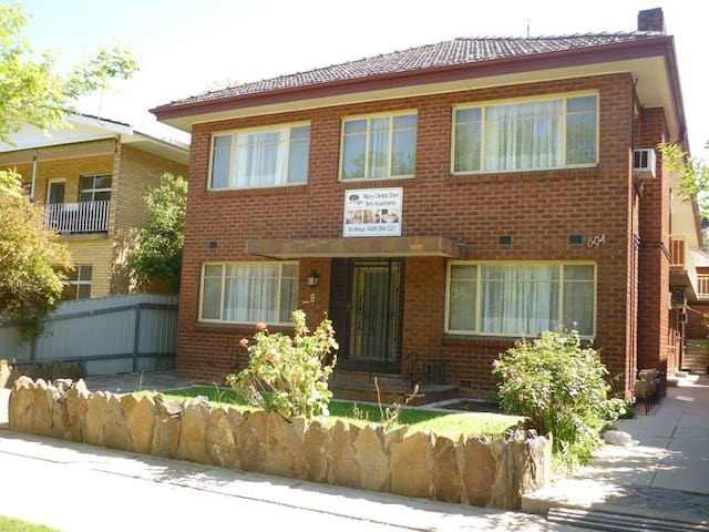#8A Apartment in the Main St Albury - Albury - Huoneisto
