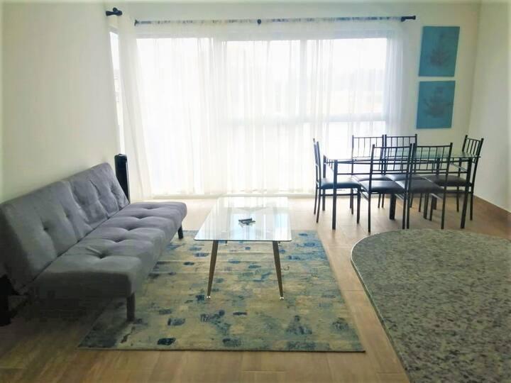 Nuevo y acogedor apartamento de 2 habitaciones