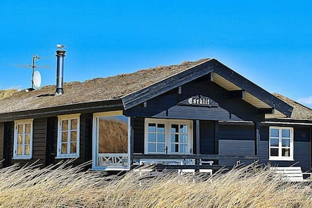 Luxurious Holiday Home in Ringkøbing with Roofed Terrace
