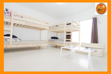 7mins Namba!WiFi & 2Bunk Beds!5ppl* - Oszaka