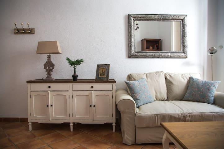 Apartamento en casa palacio en Sevilla