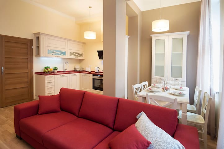 Renovated luxury apartment close to city sights!