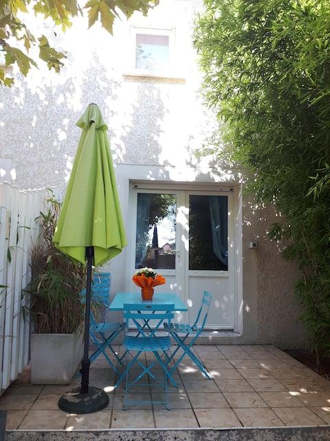 Joli appartement lumineux aux portes de Lyon