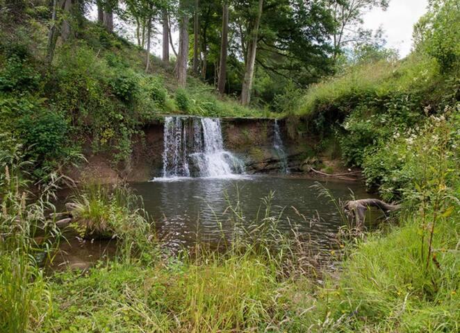 Sapey Brook Waterfall