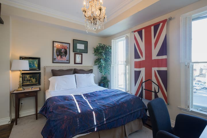 Charming Bedroom in Central Toronto
