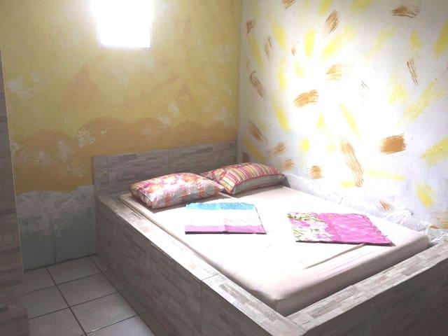 Quarto 2 com cama extra!