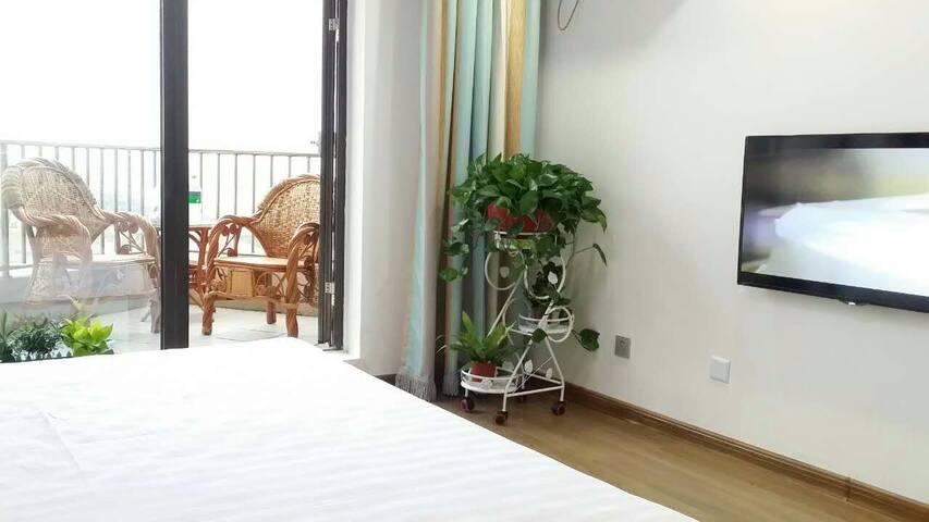 东戴河时间海一线海景公寓 - Qinhuangdao - Wohnung