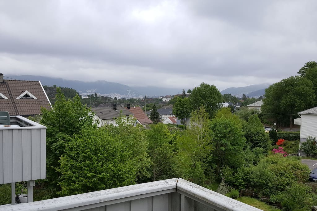 View to Bergen city
