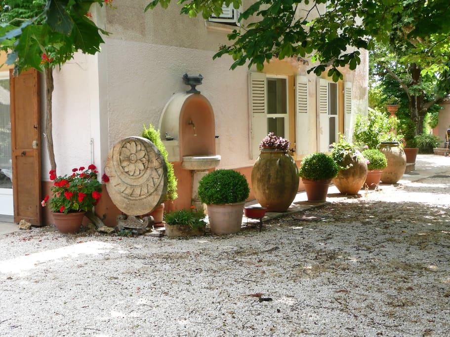 appartement en rez-de-jardin de la bastide