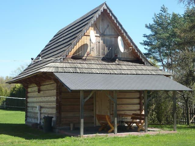 Drewniany domek góralski[2] - Czarny Dunajec - Dom