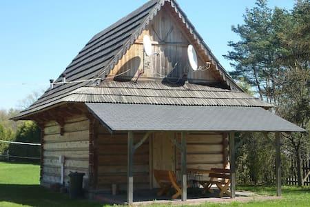 Drewniany domek góralski[2] - Czarny Dunajec