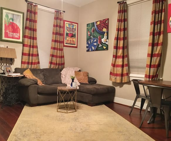 Spanish Town Shotgun 1 Bedroom - Baton Rouge - Hus