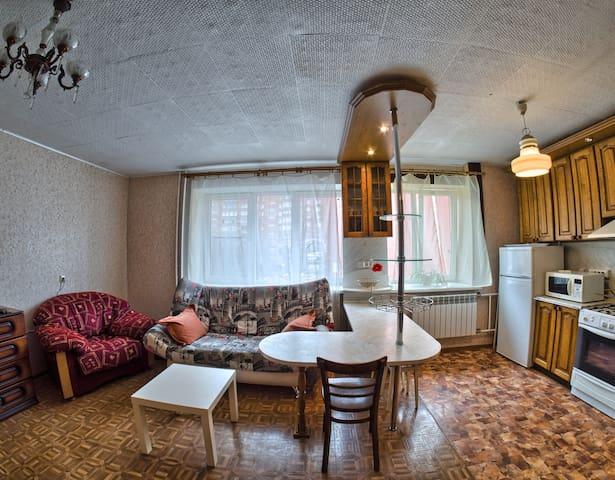 Уютная студия в самом центре города.