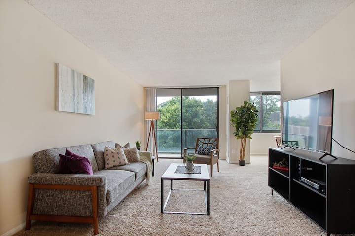 Gorgeous Suite Just Outside DC + Gym + Pool