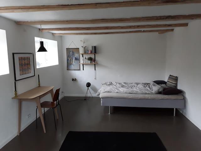 Large luxurious room just outside Copenhagen