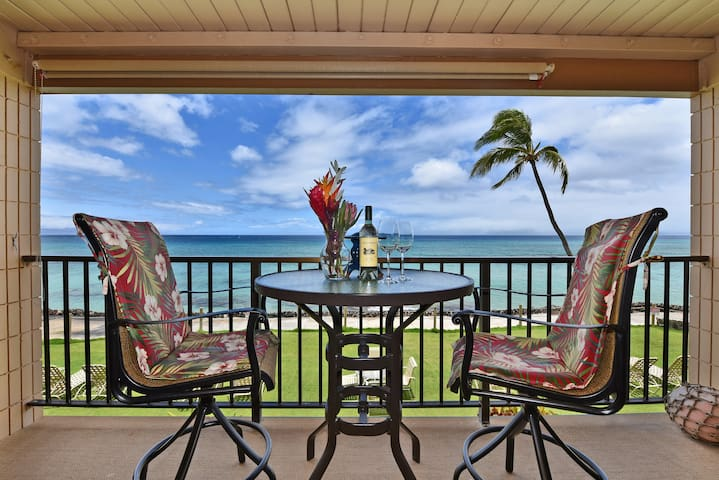 KA 211 Incredible Direct Oceanfront Views!!