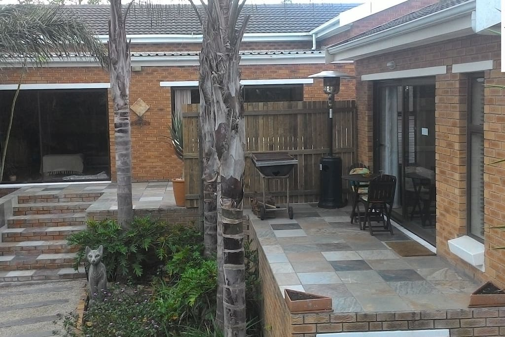 Protea Retreat, complete home/apartment attached but private.