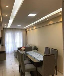 Apartamento novo e bem organizado
