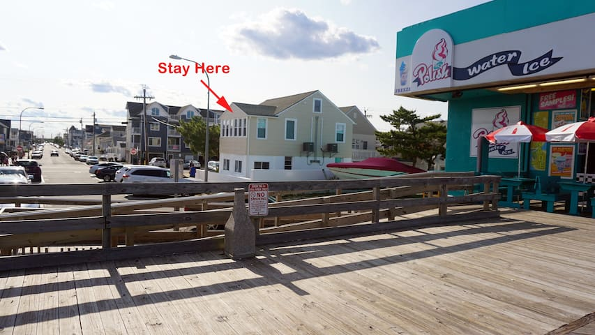 Just Renovated Beach Block Apartment (#1)