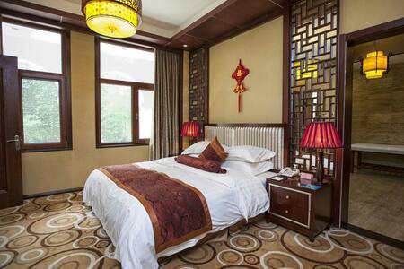 古典中式会馆整栋-附私汤 - 霸州 - Villa
