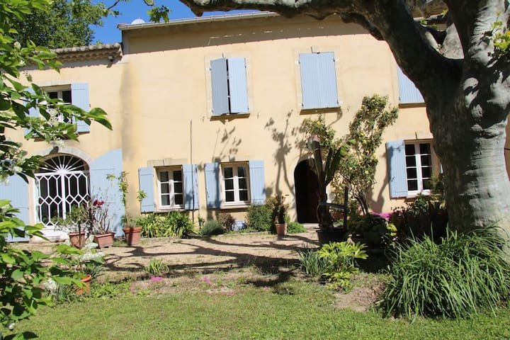 Mas in Provence with garden , swimming pool .