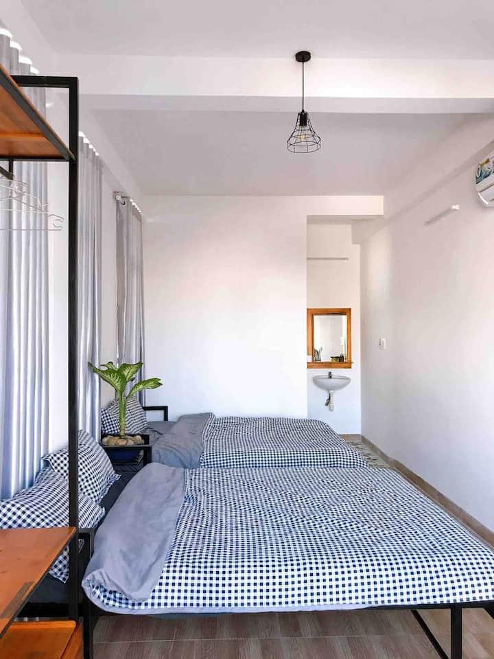 Nắng Homestay - 2.1 - 2 giường đôi
