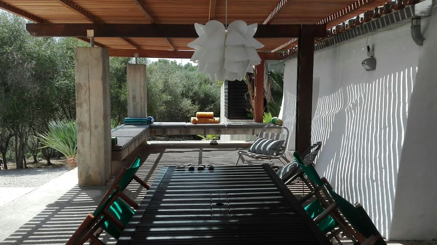 Spacy terrace with dining and chill out...