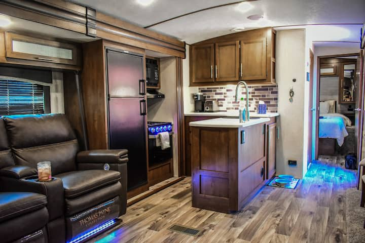 Cozy and convenient, brand new RV