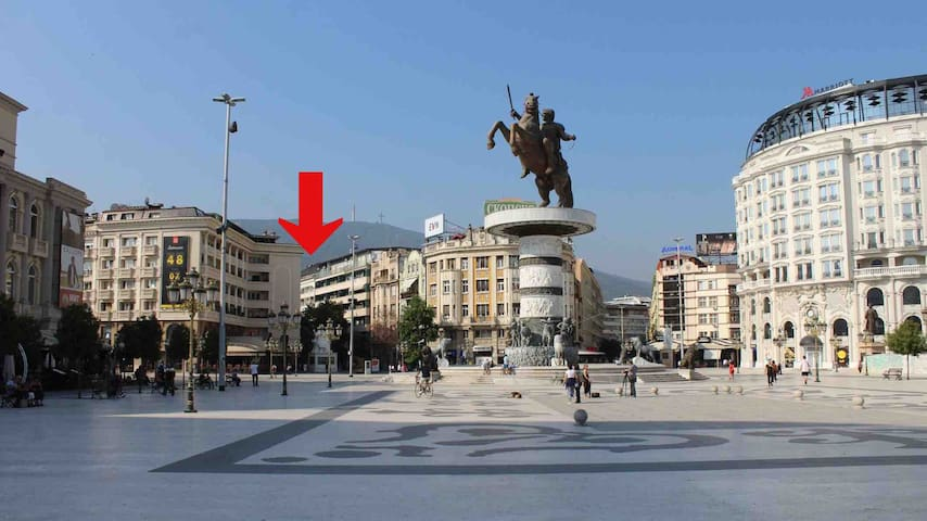 Mario's Skopje City Centar Apartment
