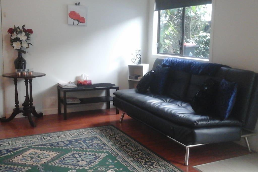 Main lounge room , dining area
