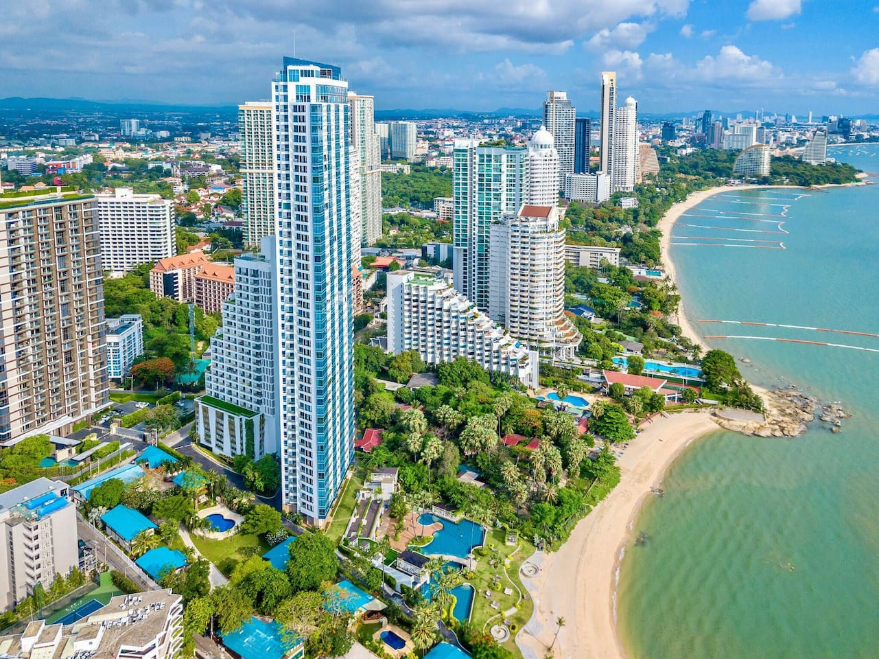 Bird's Eye View - Palm WongAmat Beach, Pattaya