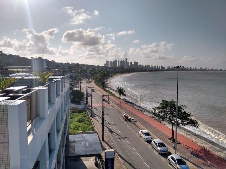 Flat beira mar em João Pessoa-PB