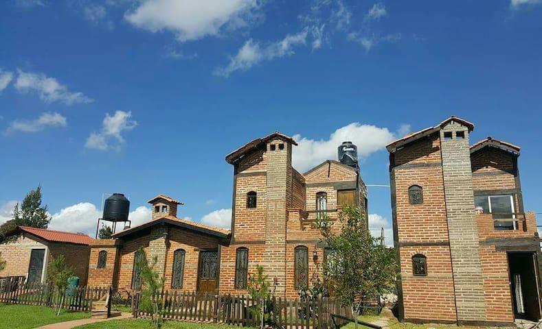 Cabañas y terraza para eventos - Arandas, Jalisco, MX - Cabin